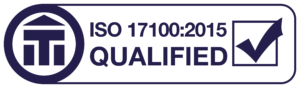 I am ISO 17100:2015 qualified